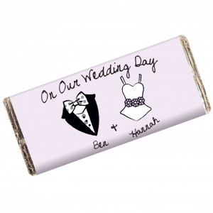 Dotty Wedding Milk Chocolate Bar