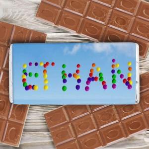 Balloons Milk Chocolate Bar