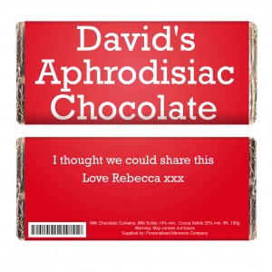 Aphrodisiac Milk Chocolate Bar