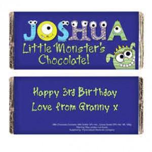 Little Monsters Milk Chocolate Bar