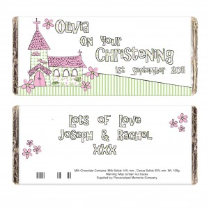 Pink Church Milk Chocolate Bar