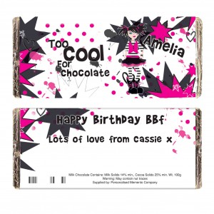 Too Cool Girl Milk Chocolate Bar
