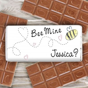 Bee Mine Milk Chocolate Bar