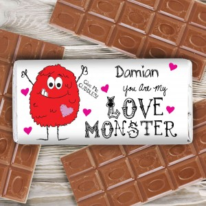 Love Monster Milk Chocolate Bar