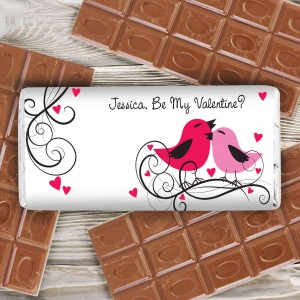Love Birds Milk Chocolate Bar