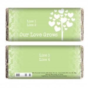 Love Grows Green Milk Chocolate Bar