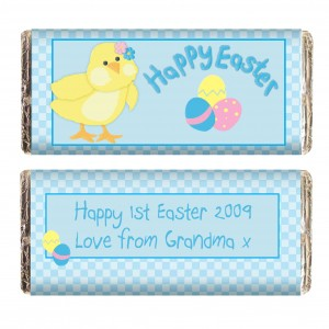 Easter Chick Milk Chocolate Bar