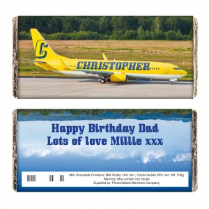 Airliner Yellow Milk Chocolate Bar