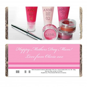 Lip Gloss Chocolate Bar