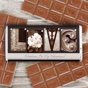 Affection Art Love Chocolate Bar