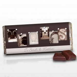 Affection Art Mr & Mrs Chocolate Bar