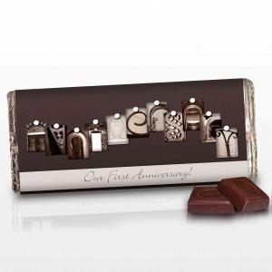 Affection Art Anniversary Chocolate Bar