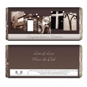 Affection Art Fifty Chocolate Bar