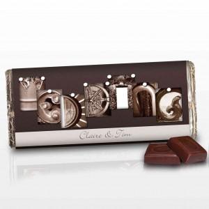 Affection Art Wedding Chocolate Bar