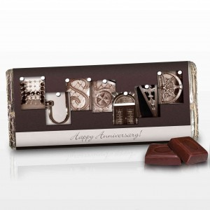 Affection Art Husband Chocolate Bar