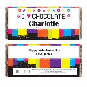 Rainbow Chocolate Bar