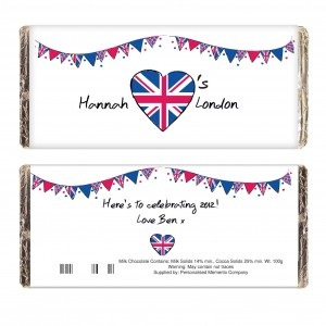 Union Jack Bunting Chocolate Bar