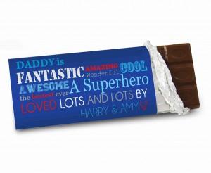 He Is chocolate bar