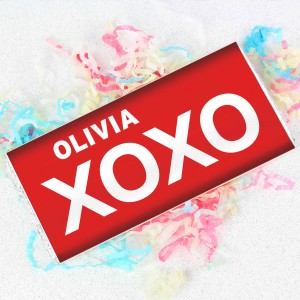 XOXO Slogan Chocolate