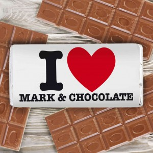 I HEART Chocolate Bar