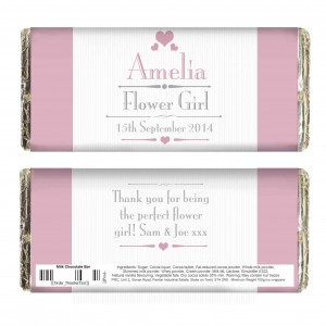 Decorative Wedding Female Chocolate Bar