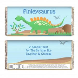 Dinosaur Chocolate Bar