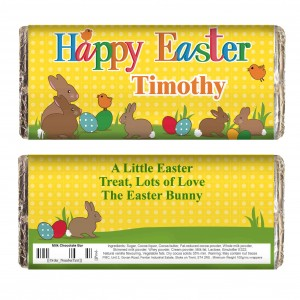 Easter Bunny Chocolate Bar