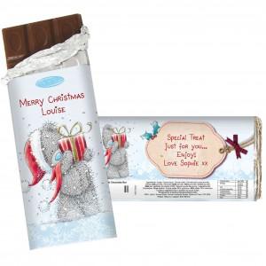 Me To You Christmas Chocolate Bar