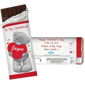 Me to You Big Heart Chocolate Bar