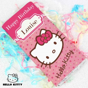 Hello Kitty Floral Chocolate Bar