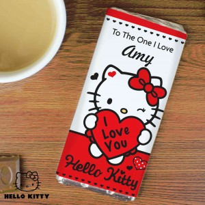 Hello Kitty I Love You Chocolate Bar