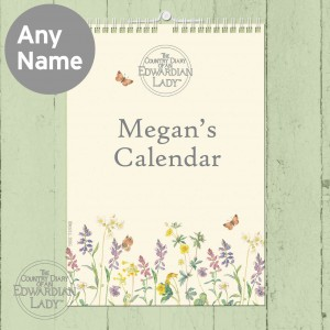 Country Diary Flower of the Month Calendar