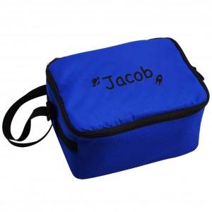 Blue Cool Bag - Black Rocket