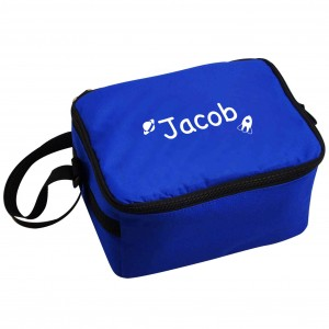 Blue Cool Bag - White Rocket