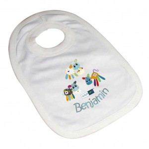 Cotton Zoo Boys Farmyard Bib
