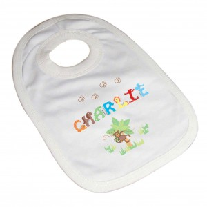 Animal Alphabet Baby Bib