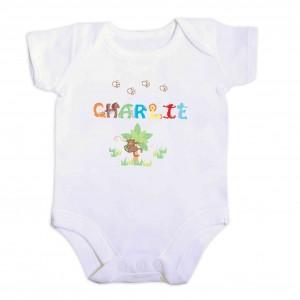 Animal Alphabet Baby Vest