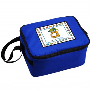 Bang On The Door Animal Alphabet Boys Lunch Bag
