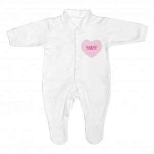 Sweet Heart 0-3 Months Babygrow