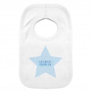 Shining Star 0-3 Months Baby Bib