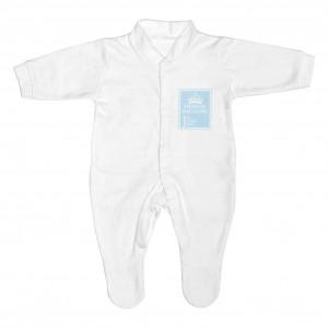 Blue 1st Class 0-3 Months Babygrow