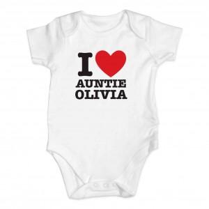 I HEART 0-3 Months Baby Vest