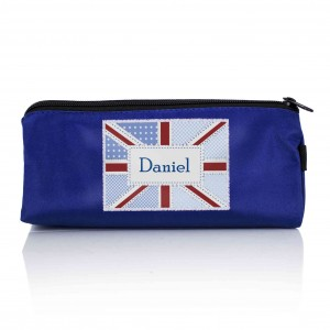 Patchwork Union Jack Pencil Case