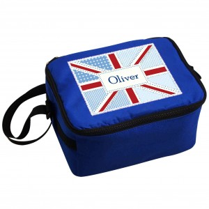 Patchwork Union Jack Lunch Bag