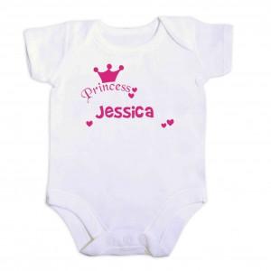 Little Princess Pink 9-12 Months Baby Vest