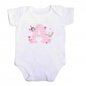 Fairy Letter 3-6 Months Baby Vest