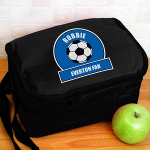 Dark Blue Football Fan Lunch Bag