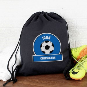Dark Blue Football Fan Kit Bag