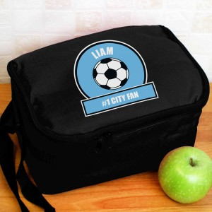 Sky Blue Football Fan Lunch Bag