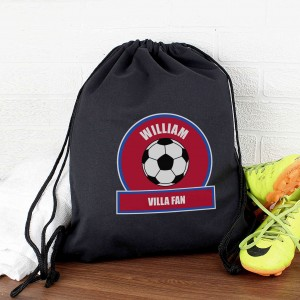 Claret and Blue Football Fan Kit Bag